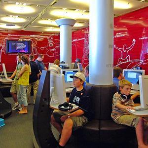 Интернет-кафе Октябрьского